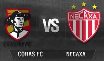 Coras Tepic vs Necaxa en Vivo 2014