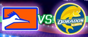 Correcaminos vs Dorados en Vivo 2014