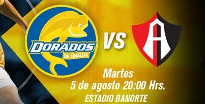 Dorados vs Atlas en Vivo 2014