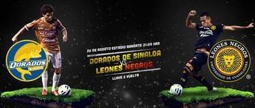 Dorados vs Leones Negros en Vivo 2014