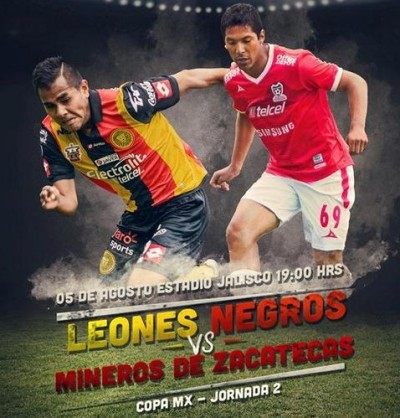 Leones Negros vs Zacatecas en Vivo 2014