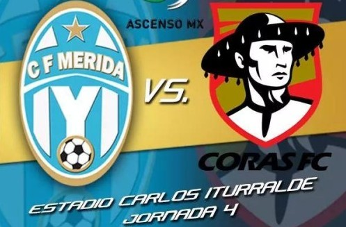 Mérida vs Coras Tepic en Vivo – Ascenso MX 2014
