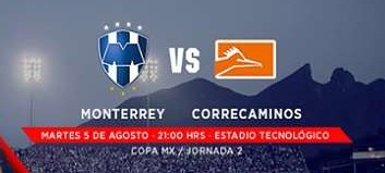 Monterrey vs Correcaminos en Vivo 2014