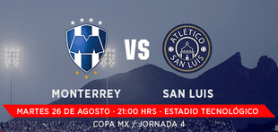 Monterrey vs San Luis en Vivo 2014