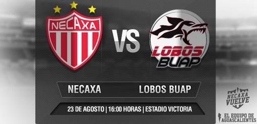 Necaxa vs Lobos BUAP en Vivo – Ascenso MX 2014
