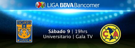 Tigres vs América en Vivo Liga MX 2014