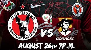 Tijuana vs Coras Tepic en Vivo Copa MX 2014