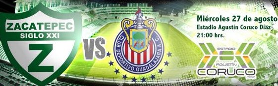 Zacatepec vs Chivas en Vivo Copa MX 2014