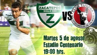 Zacatepec vs Tijuana en Vivo 2014