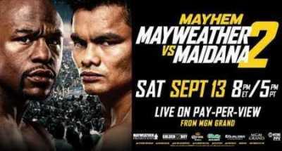 Floyd Mayweather Jr vs Marcos Maidana II en Vivo 2014