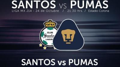 Santos vs Pumas en Vivo 2014