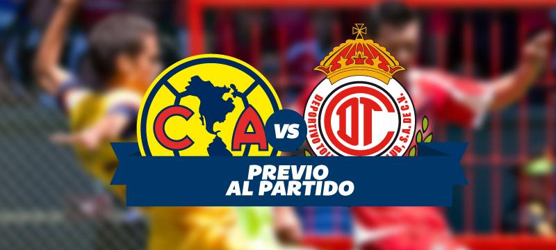América Vs Toluca en vivo Liga MX 2016