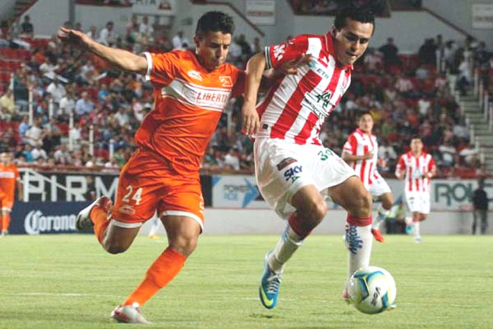 Necaxa vs Correcaminos en Vivo Ascenso MX 2016