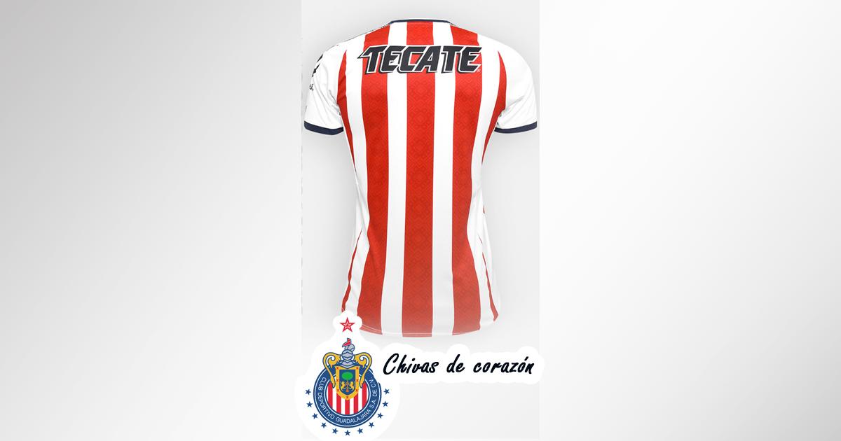 Playera chivas 2017 - 2018 con nombre y número Online