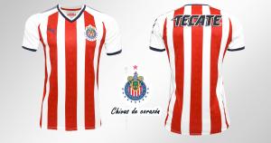 Crear camiseta de las chivas 2017 - 2018 con nombre y numero fondo de pantalla hd